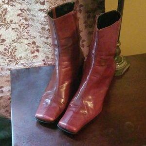 Nine west heeled boots